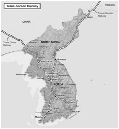 Proposed Inter Korean Railway System